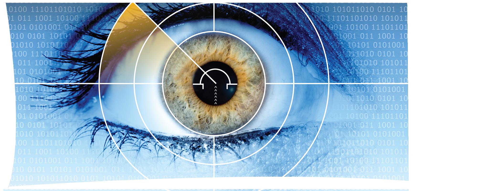 הדמייה של בדיקת עיניים