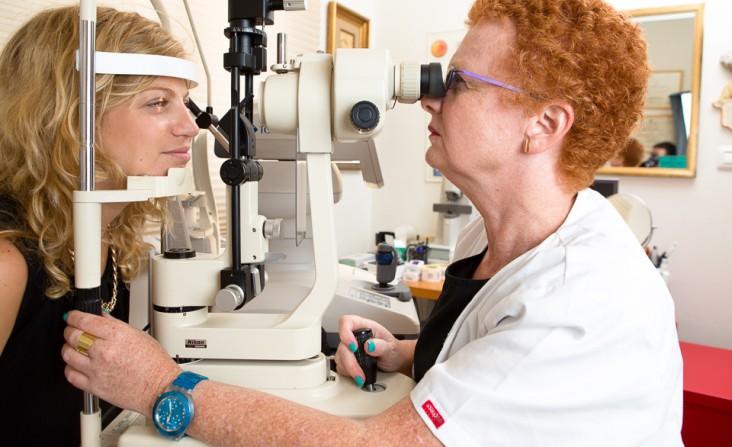 קרטוקונוס - בדיקת עיניים עם ארזה פרוכטר