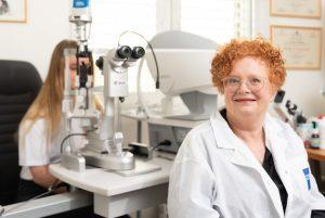 ארזה פרוכטר אופטומטריסטית קלינית לטיפול בקרטוקונוס