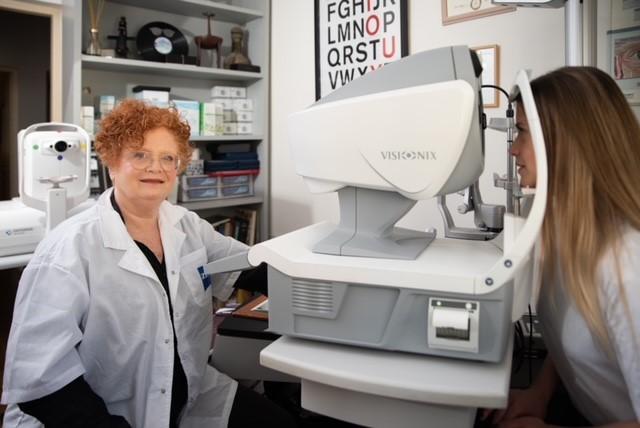 ארזה פרוכטר מטפלת במחלת קרטוקונוס
